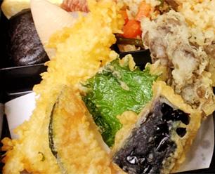 揚げたてプリプリ!秋の味覚の天ぷら
