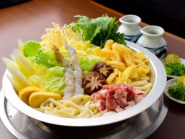 うどんすきセット(薬味・ダシ付き)