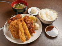 ミックスフライ弁当(味噌汁付き)