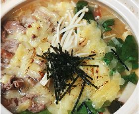 肉ぞうすい+チーズ(+100円)