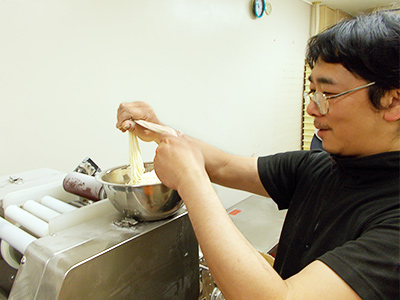 開発者製麺職人