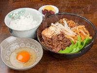 すき焼き鍋定食