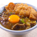 カツカレー丼