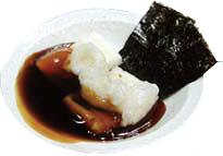 ダシ風味のあんかけ和風餅「揚げ餅」