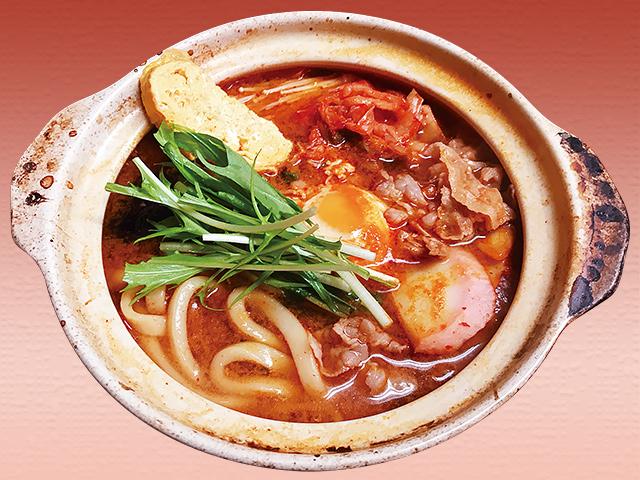 茶美豚の豚キムチ鍋