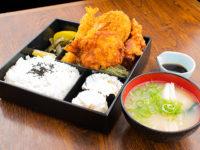 ミックスフライ(から揚げ・エビフライ・コロッケ)弁当