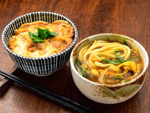 親子丼&カレーうどんミニミニセット