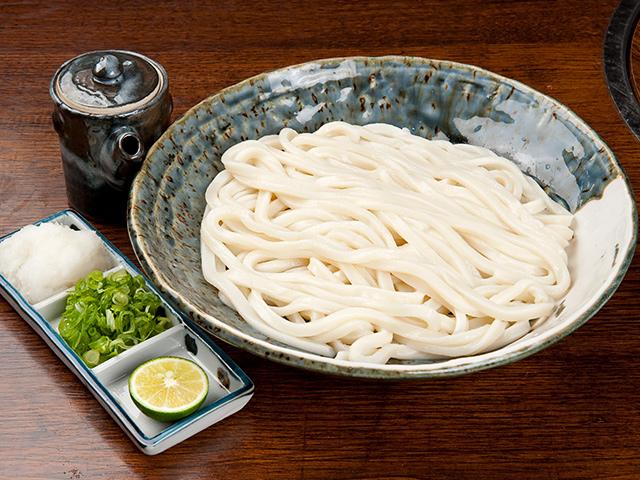 細麺生醤油うどん