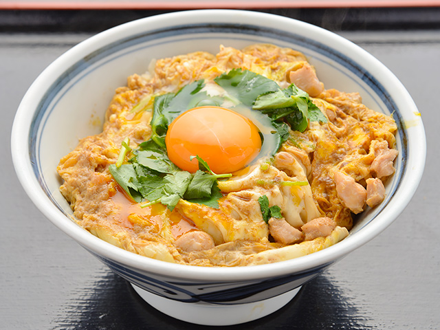 近江黒鶏の親子丼